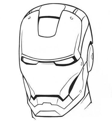 Kleurplaat Masker Superman Archidev